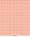 Wallpaper - Cottage Plaid - Orange