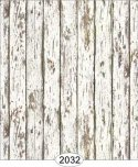 Wallpaper - Distressed Wood - White