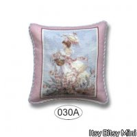 Pillow - Lady in Pink 1