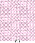 Wallpaper - Cane Lattice Pink