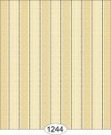 Wallpaper - Bella Stripe - Black on Beige
