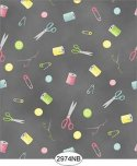 Wallpaper Sew Perfect Notions Black No Border