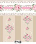 Wallpaper - Daniella Floral Stripe - Beige