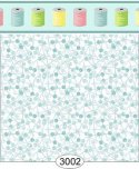 Wallpaper Sew Perfect Pins Blue