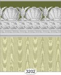 Wallpaper Jolie Moire Olive Green