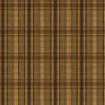 Wallpaper - Cabin Plaid - Brown with Black