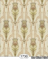 Wallpaper - Tulip Tapestry - Ivory 5:Cover