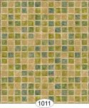 Wallpaper - Mosaic Tile - Green