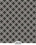 Wallpaper Rose Hill Trellis Black