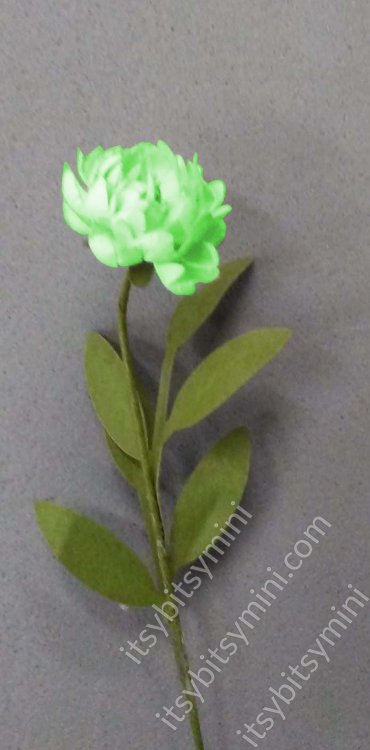 Flower Kit Peony Green - Click Image to Close