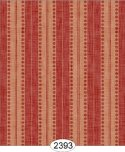 Wallpaper - Annabelle Stripe Red on Cream