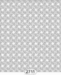 Wallpaper - Cane Lattice Grey