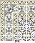 Wallpaper - Decorative Tile - 1693