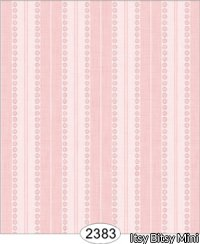 Wallpaper - Annabelle Stripe Pink Quartz