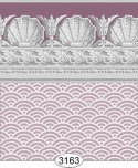 Wallpaper Jolie Shell Purple Plum