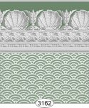 Wallpaper Jolie Shell Green