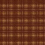 Wallpaper - Cabin Plaid Brown and Gold