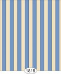 Wallpaper - Empress Thin Stripe - Blue
