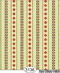 Wallpaper - Hannah Stripe Green