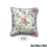 Pillow - Emma - Rose - Red - Square