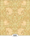 Wallpaper - Victorian Tulips - Gold