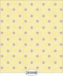 Wallpaper - Daisy Floral Dot Yellow