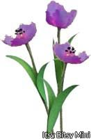 Flower Kit Tulip Purple