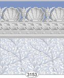 Wallpaper Jolie Willow Blue Periwinkle