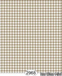 Wallpaper Birch Houndstooth Brown Beige