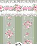 Wallpaper - Daniella Floral Stripe - Olive