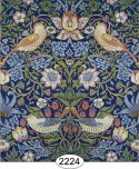 Wallpaper - Victorian - Strawberry Birds