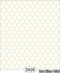 Wallpaper Geometric Trellis Light Yellow