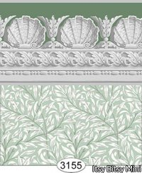 Jolie Willow Green Wallpaper