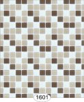 Wallpaper - Mosaic Tile - Grey and Brown