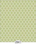 Wallpaper Geometric Trellis Reverse Green Spring