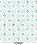 Wallpaper - Daniella Doily - Blue No Border