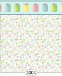 Wallpaper Sew Perfect Pins Multi Pastel