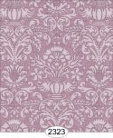 Wallpaper - Annabelle Damask Purple Orchid