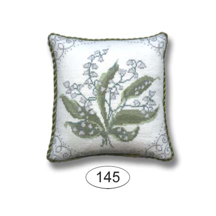 Pillow - Scroll Frame - Lilly of the Valley