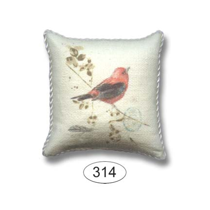 Pillow - Songbird - Red