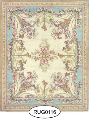 Rug - French - 0116 - Aubusson