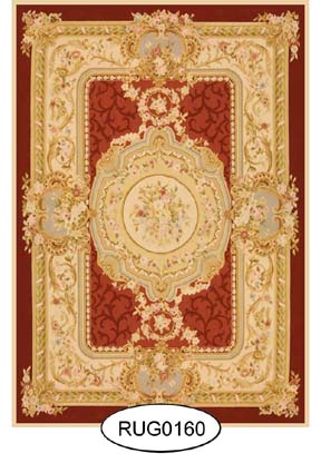 Rug - French - 0160 - Aubusson