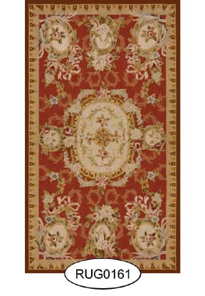Rug - French - 0161 - Aubusson
