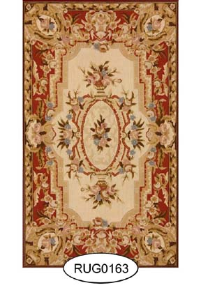Rug - French - 0163 - Aubusson
