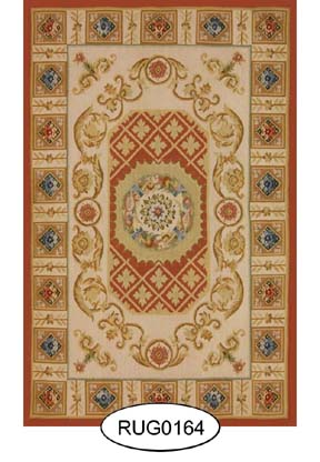 Rug - French - 0164 - Aubusson