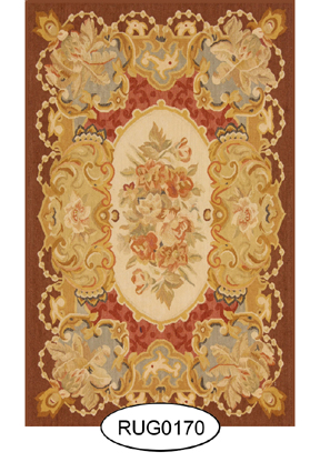 Rug - French - 0170 - Aubusson