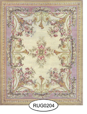 Rug - French - 0204 - Aubusson