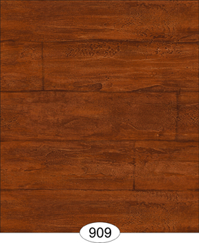Wallpaper - Wood Planks - Cherry Dark