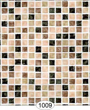 Wallpaper - Mosaic Tile - Black