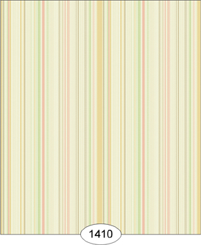 Wallpaper - Emma - Stripe - Orange